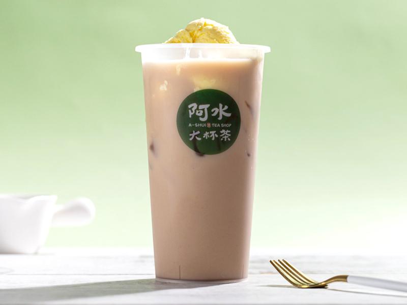 冰激凌奶茶