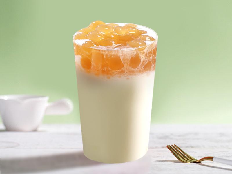 椰奶啵啵茶